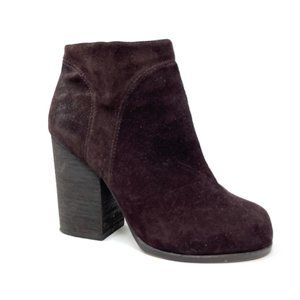 Jeffrey Campbell Hanger Ankle Bootie Size 7 Brown